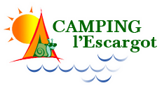 logo camping lescargot shadow